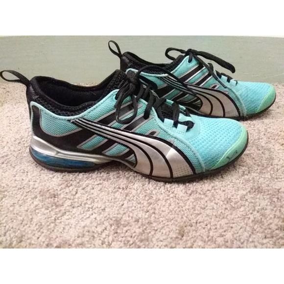5867f40a16cd PUMA Voltaic 4 MT Running Shoes - Blue Curaca. M 5aa0d856d39ca2e82268531c